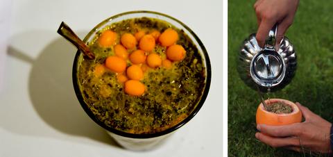 Mate apelsini või astelpajuga